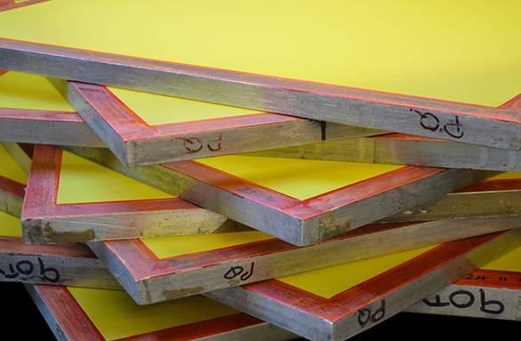 PC TECH FRAMES+MESH Alumium Frame 50 x 70 cm (30x30) 120 T Yellow (ALU