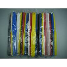 PC TECH SPATULA PLASTIC SPATULA Yellow/Red/Black/Blue (S) (SET)